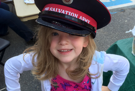 Salvation Army offering support