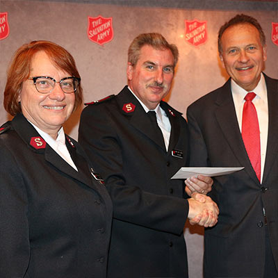 The Salvation Army?s 10th Annual Waterbury Kettle Kickoff Dinner!