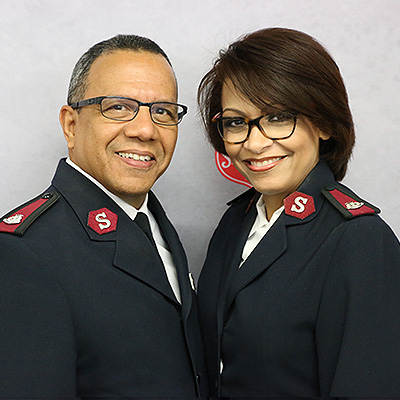 Majors Israel & Giselle Acosta