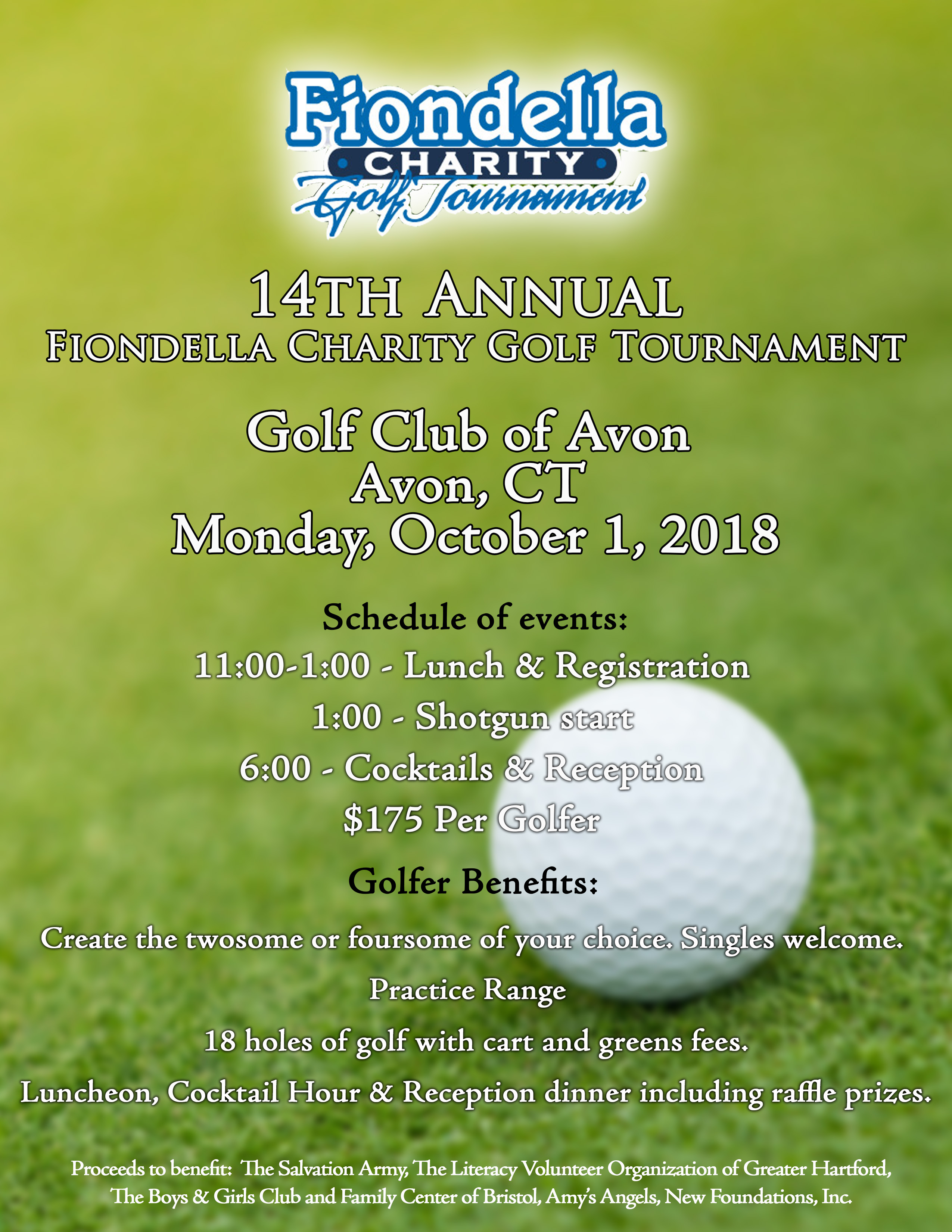 Fiondella Golf Tournament