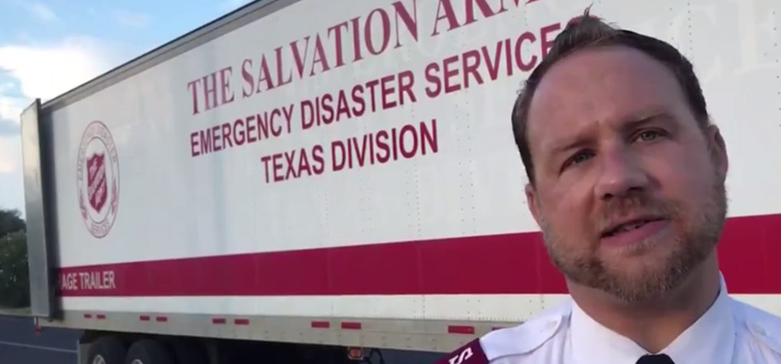 Salvation Army Hurricane Harvey