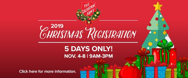 Christmas Registration