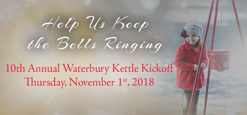 Salvation Army Waterbury Kettle Kickoff 2018