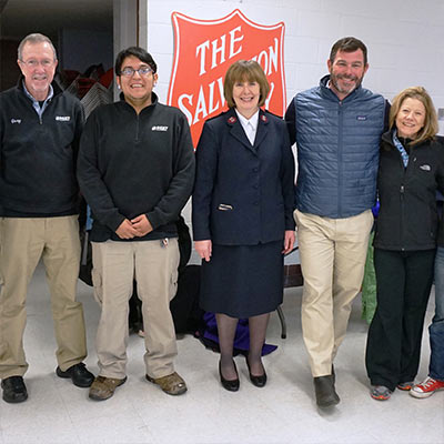 best cleaners wraps up 10th coats for ct campaign with 15,000 warm embraces