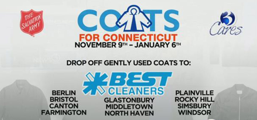 Best Cleaners Coats for CT 2017