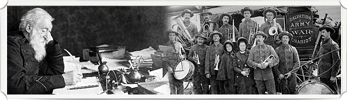 the history of salvation army Click images for full size salvation army band image courtesy of the north carolina office of archives and history, raleigh, nc image owned by the north carolina history project.