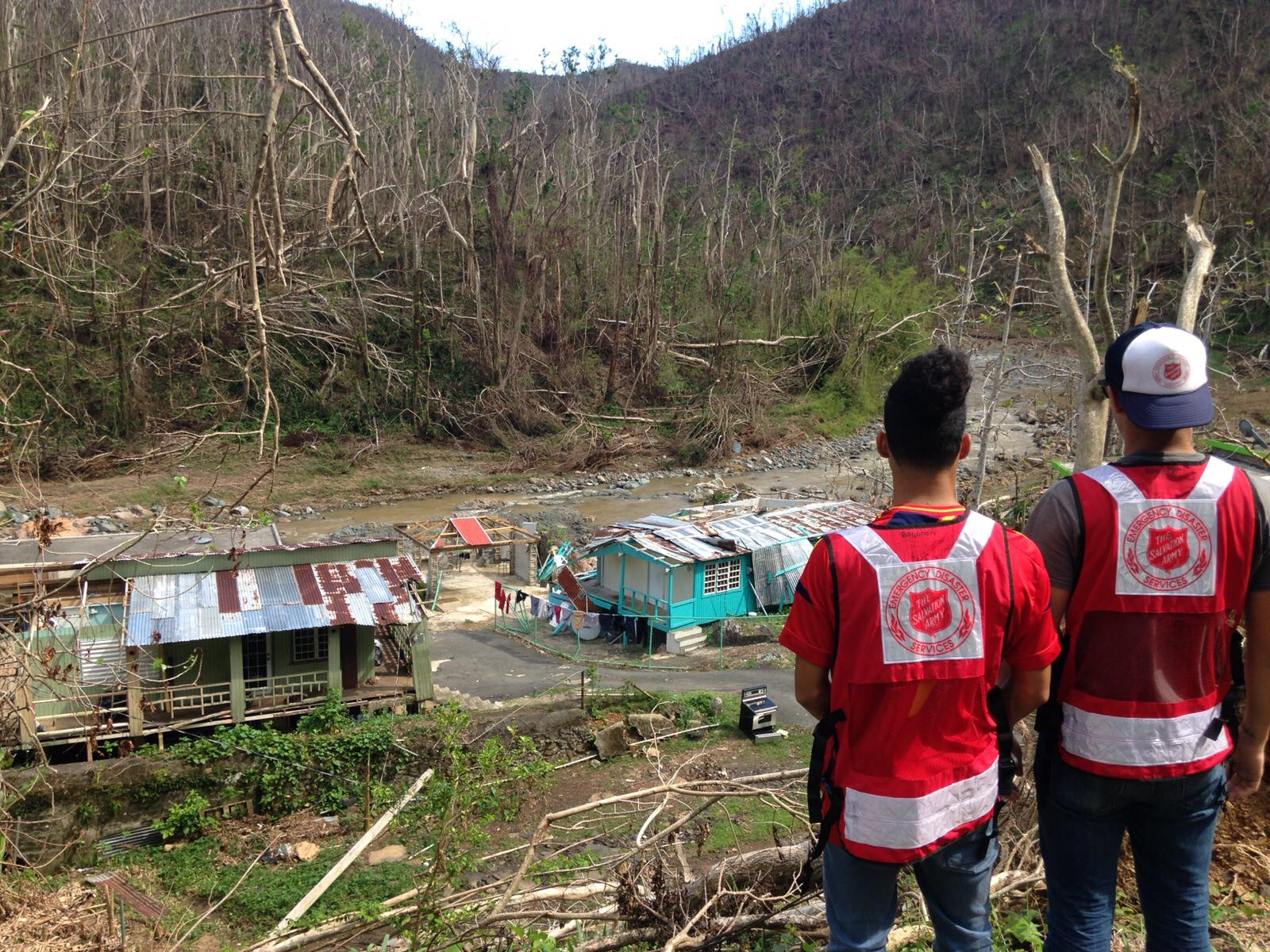 The Salvation Army Picks up the Pieces on Puerto Rico and US Virgin Islands