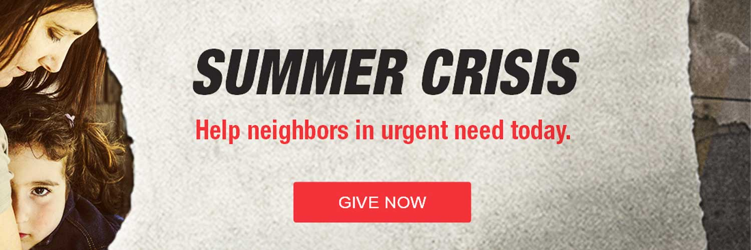 Summer Needs Web Banner - Click to Donate