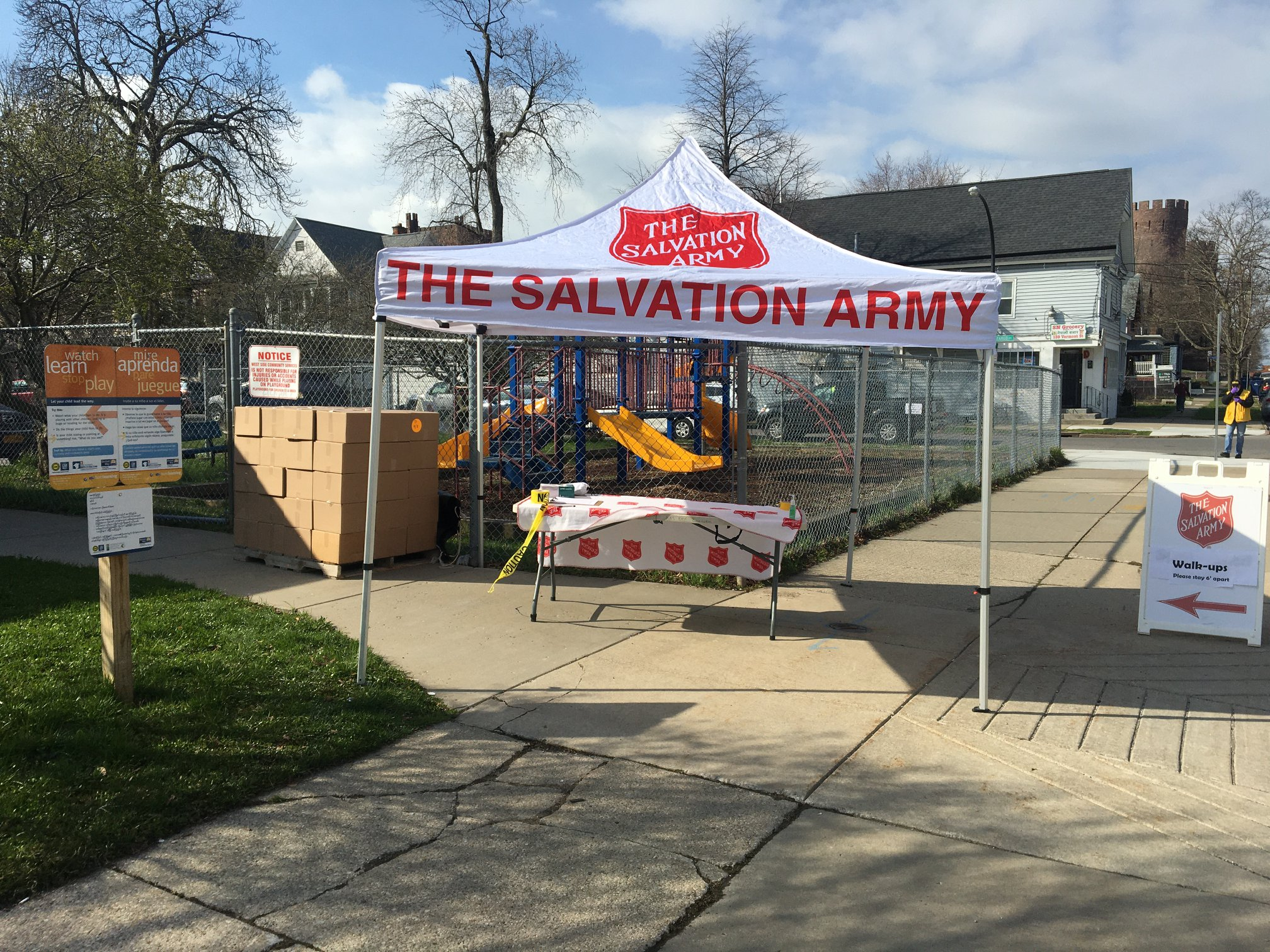 Salvation Army Tent