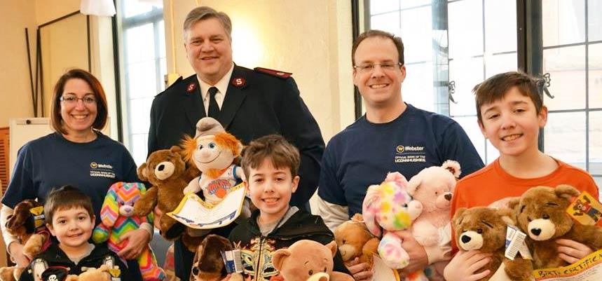 Salvation Army Teddy Bears