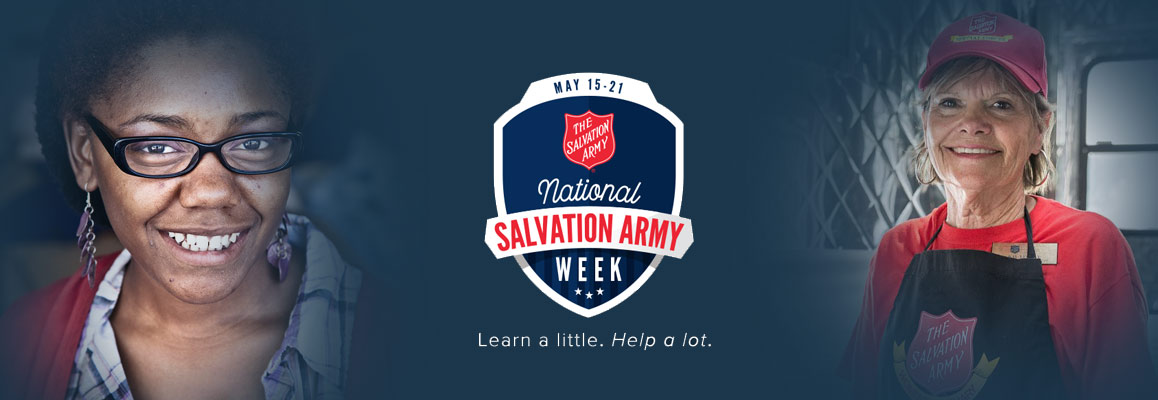 National Salvation Army Week 2017