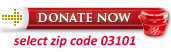 Donate Now - select zip code 03101