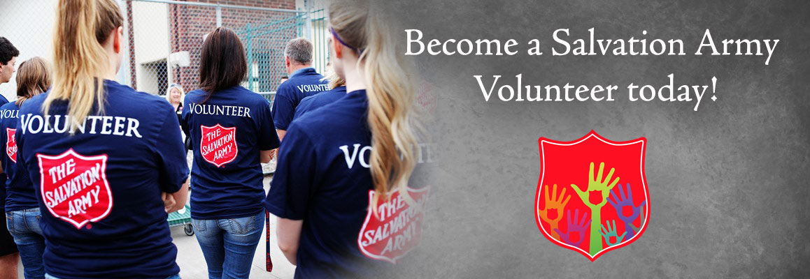 Volunteer for The Salvation Army in Connecticut and Rhode Island