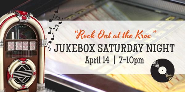 Jukebox Saturday Night April 14, 7-10pm, Salvation Army Kroc Center, Ashland, Ohio