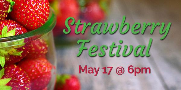 Strawberry Festival - Salvation Army Kroc Center, Ashland, Ohio