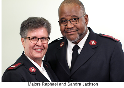 Majors Raphael and Sandra Jackson