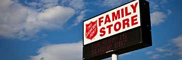 The Salvation Army Family Thrift Store Location