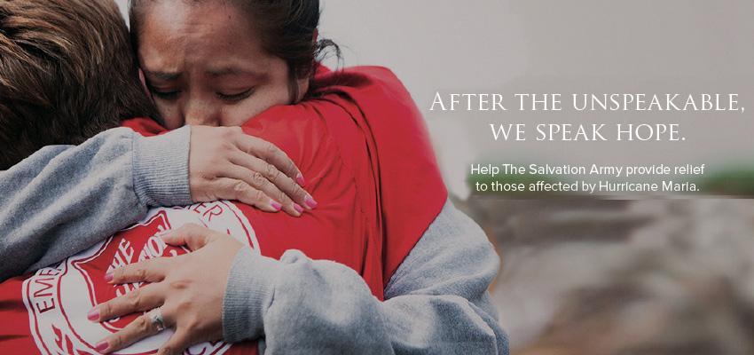 Salvation Army Hurricane Relief Work
