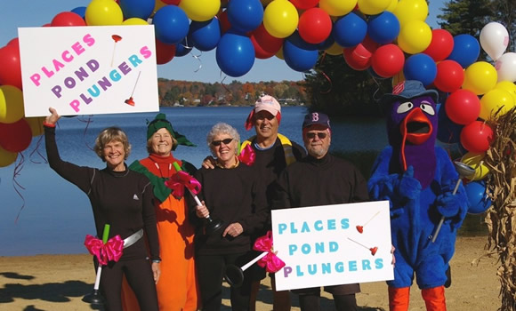 The 12th Annual Salvation Army Turkey Plunge