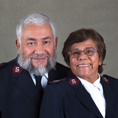 Majors Dora Garcia & Wilder Garcia