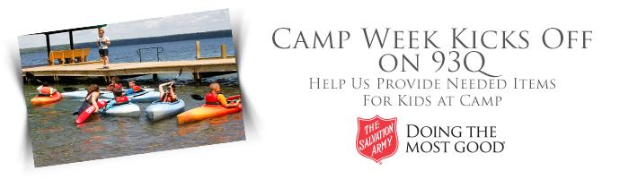 Camp Week Kicks Off on 93Q
