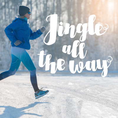 Running shoes, Jingle All the Way 5K, Ashland Salvation Army Kroc Center 5K, Ashland, Ohio