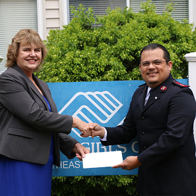 The Salvation Army and the Boys & Girls Club partner to help children in Greater New London