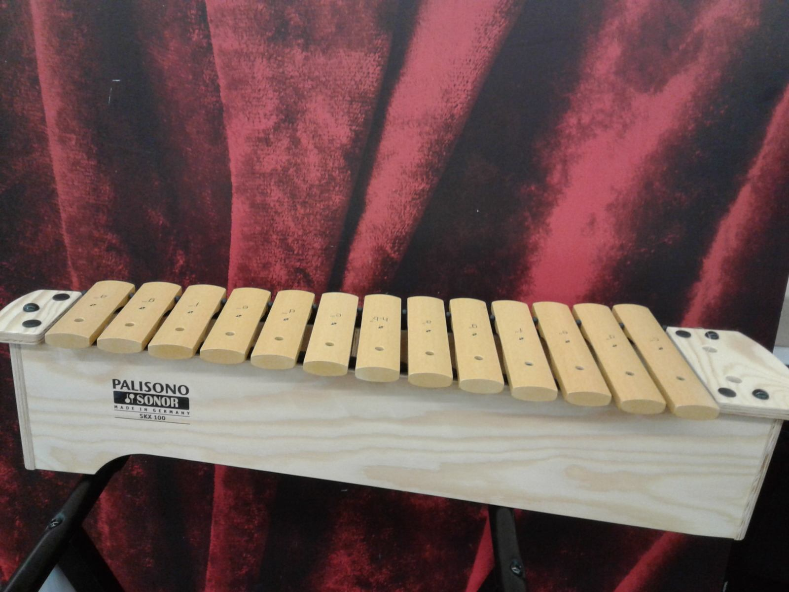 sonor-xylophone-paliosno-mallet-strike-hit-play-made-in-germany-wood-keys