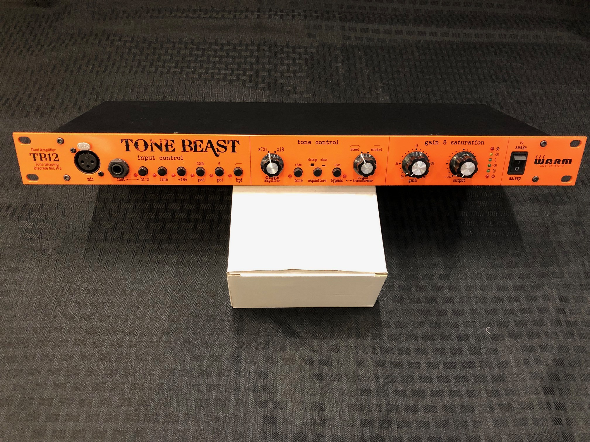 Used Warm Audio Tb12 Tone Beast Microphone Preamp Sam Ash Gear Preamplifier For Or Guitar Use Img 06873