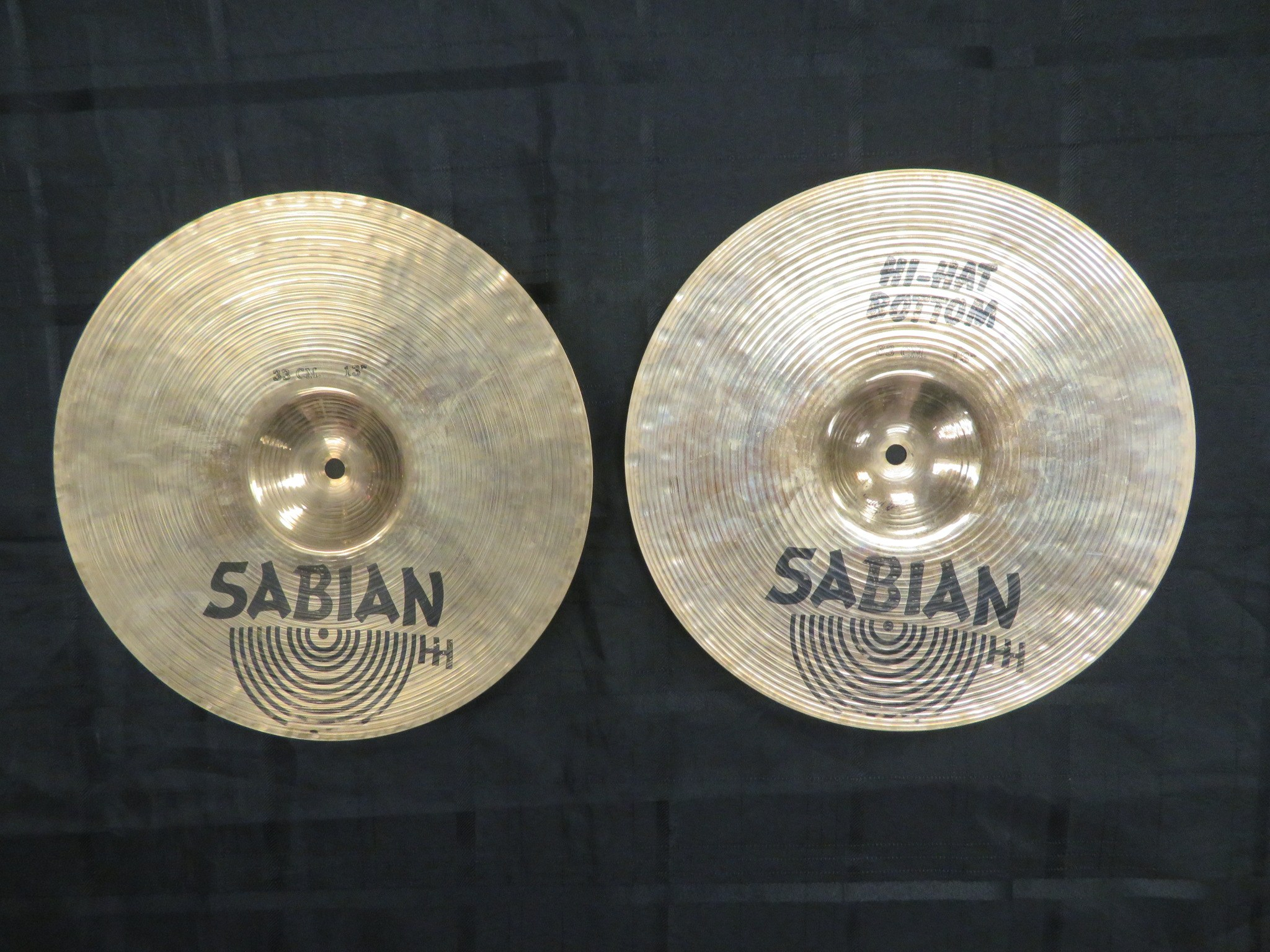 used sabian 13 vintage hh hi hat cymbals sam ash used gear. Black Bedroom Furniture Sets. Home Design Ideas