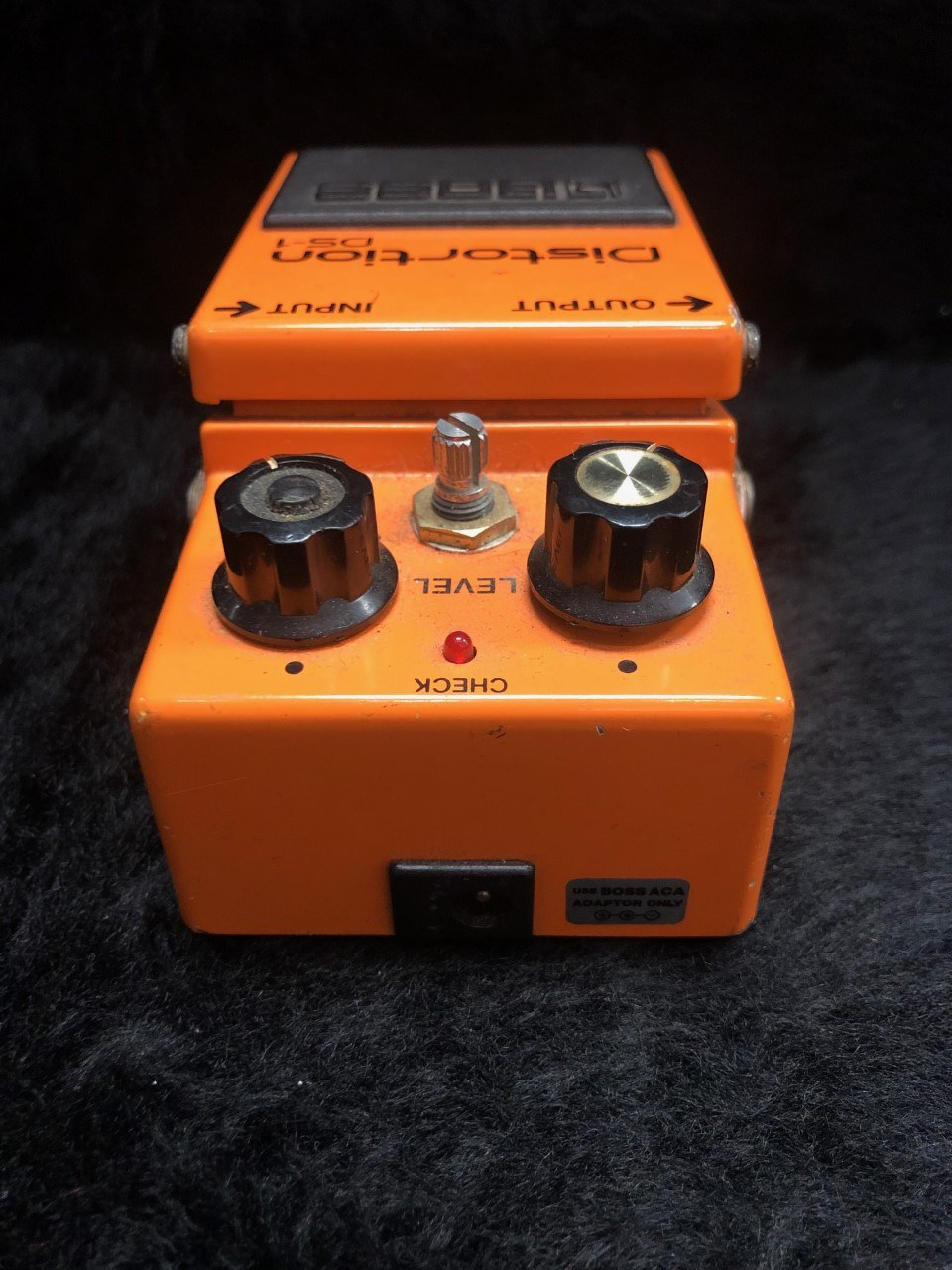 used boss boss ds 1 distortion pedal made in japan 1986 sam ash used gear. Black Bedroom Furniture Sets. Home Design Ideas