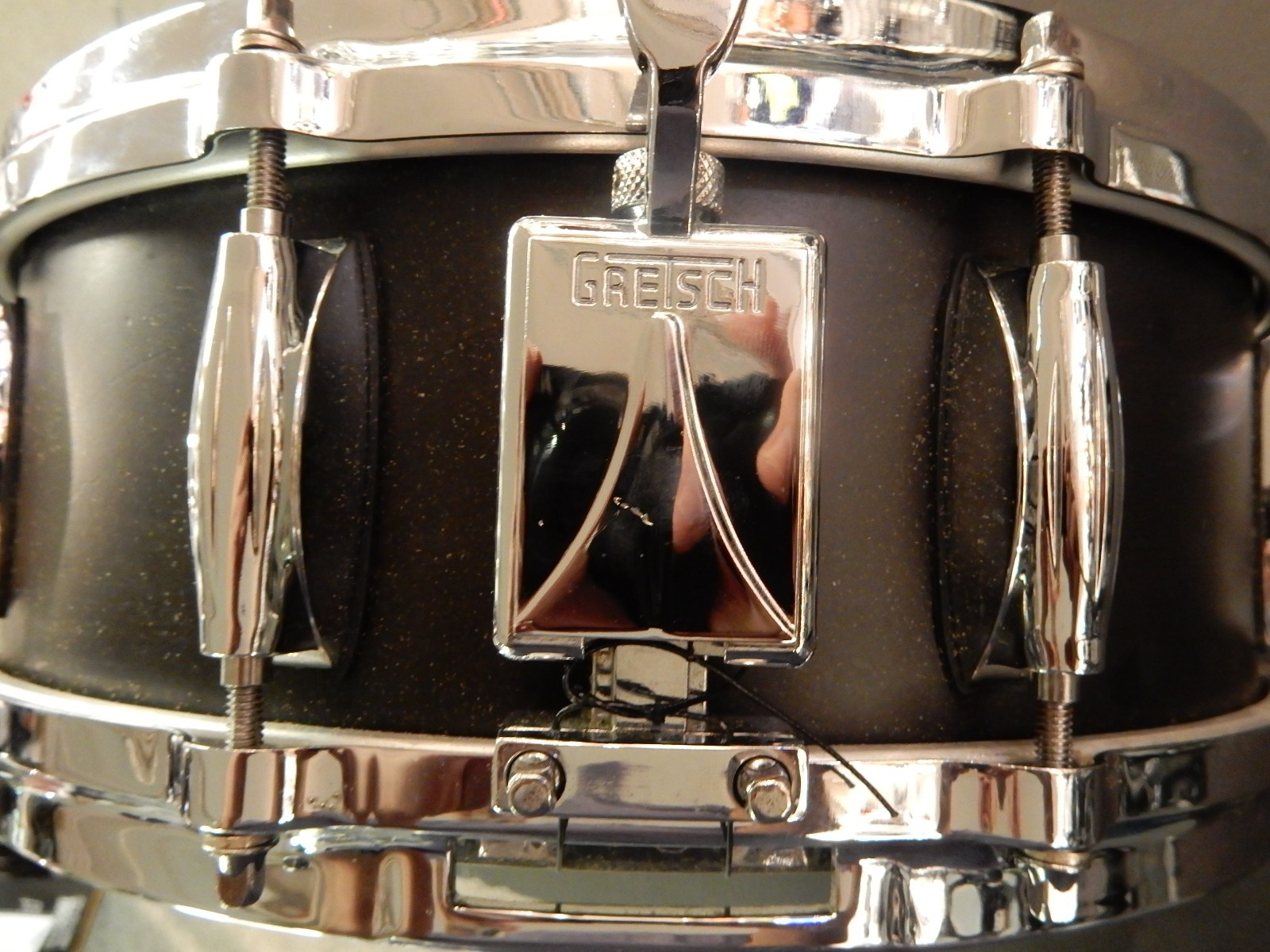 used gretsch 5x14 usa custom snare drum sam ash used gear. Black Bedroom Furniture Sets. Home Design Ideas