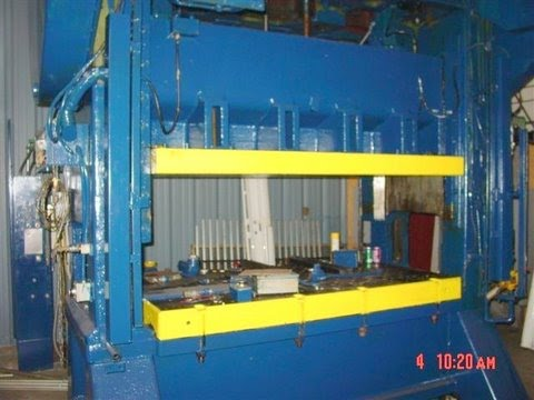 200 Ton Bliss Press - Straight Side Metal Stamping Punch