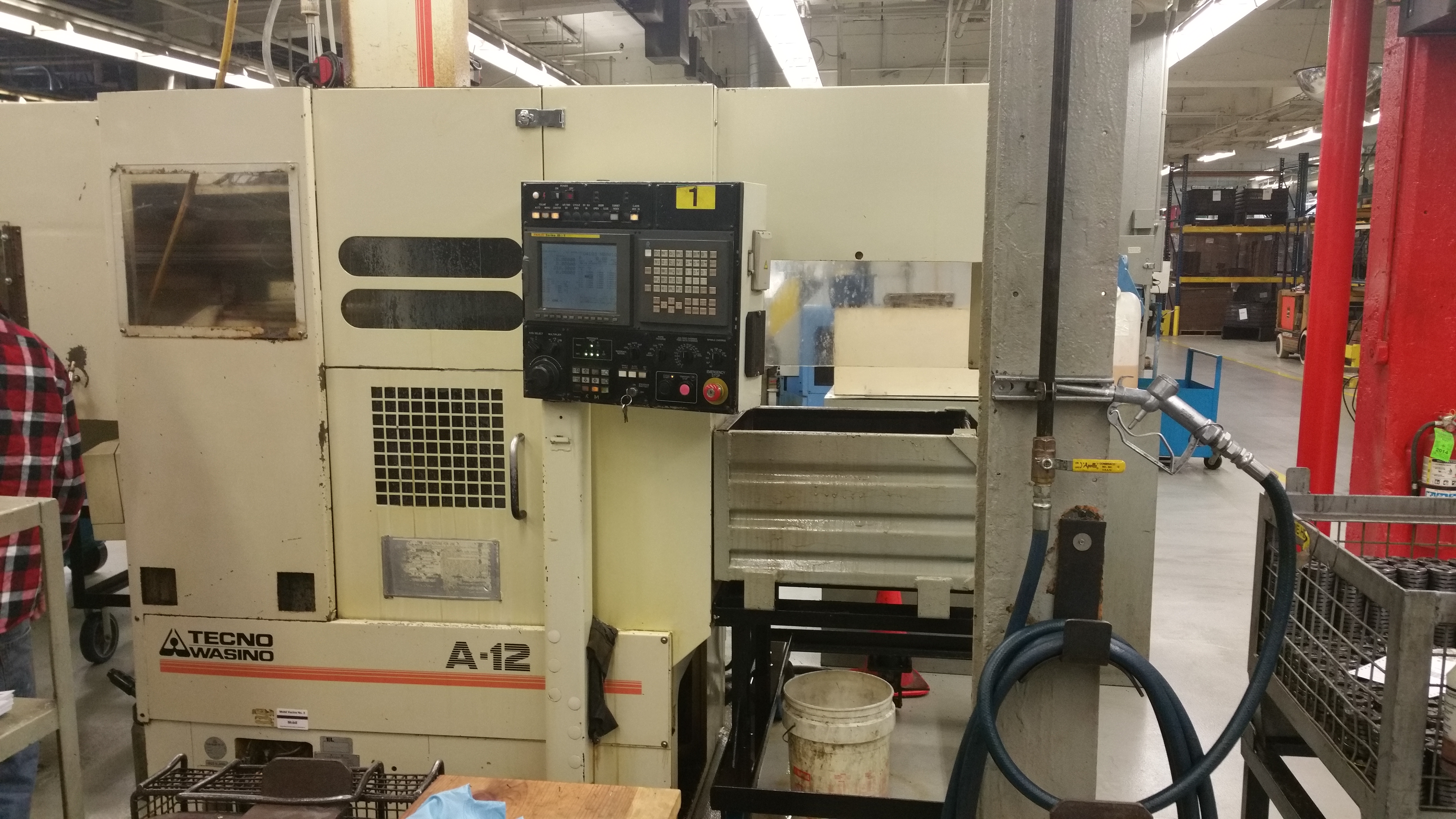 Used Wasino A 12 CNC Lathe Turning Center Mill For Sale