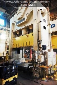 600 Ton Clearing Metal Stamping Press For Sale | Call 616