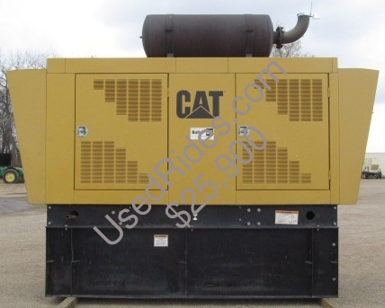 230 kw cat sound attenuated with tank sn 9nr02495 side view 1