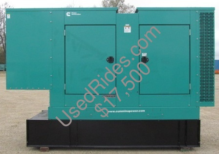 100 kw cummins onan sound attenuated with tank sn d110206467 side view 1