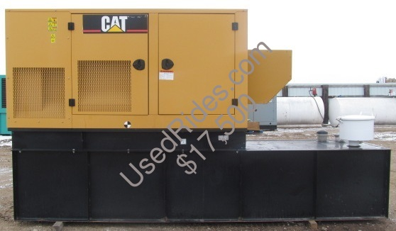 100 kw cat sound attenuated with tank sn cat00c44cnce00487 side view 1