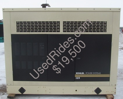 125 kw kohler gm ng lp with partial sound attenuation sn 2068670 side view 2
