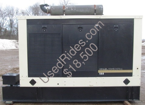 135 kw kohler john deere enclosed with tank sn 2043179 side view 2