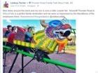 Roller coaster from facebook
