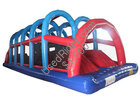 Inflatable wiped out obstacle game qsp 3580