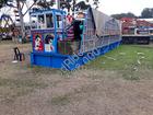 Jumping n smile  trailer mounted amusement rides  sinorides