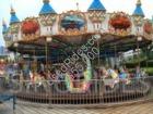36 seats upper drive carousel