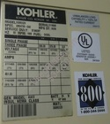 300 kw kohler volvo penta enclosed with tank sn 2118808 view %2810%29