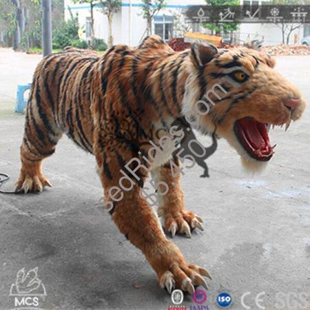Robotic tiger model for sale 2 grande