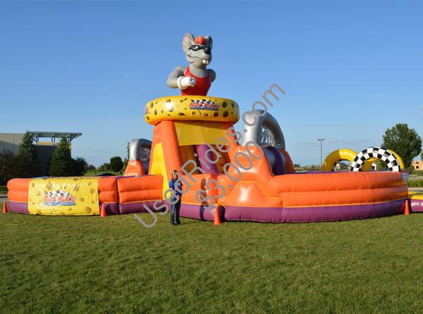 Rat race obstacle course