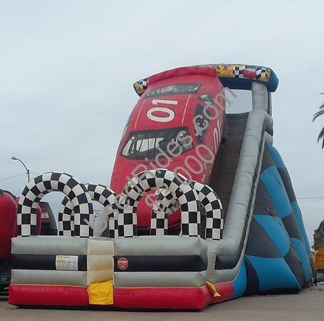 Race car slide 2