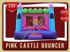 Pink castle inflatable rental lake helen price 300x225