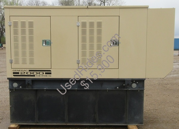 100 kw generac new holland enclosed with tank sn 2062262 view %281%29